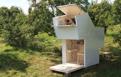Wohnen auf 10 Quadratmetern! Klappe auf für eine mobile Wohn-Box