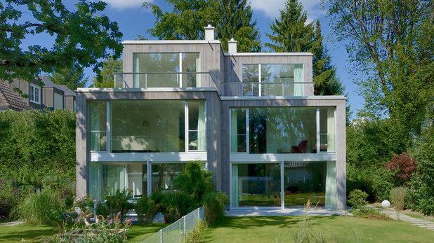 Doppelhaus In München Schmales Grundstück Clever Ausgenutzt