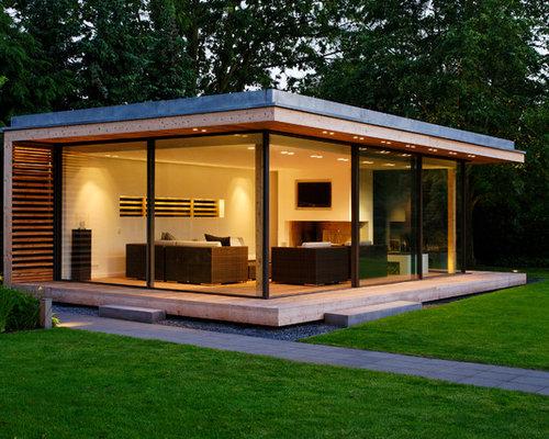 einst ckiges kleines haus und fassade ideen f r die fassadengestaltung houzz. Black Bedroom Furniture Sets. Home Design Ideas