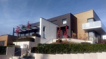 Modernes Architektenhaus in Wiesbaden