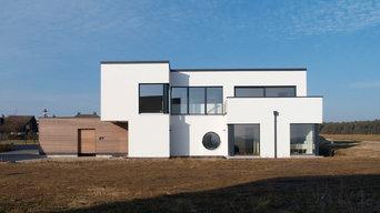 Modernes Haus am Land