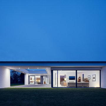 Modernes Haus auf dem Land