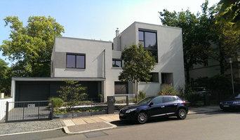 Modernes Stadthaus