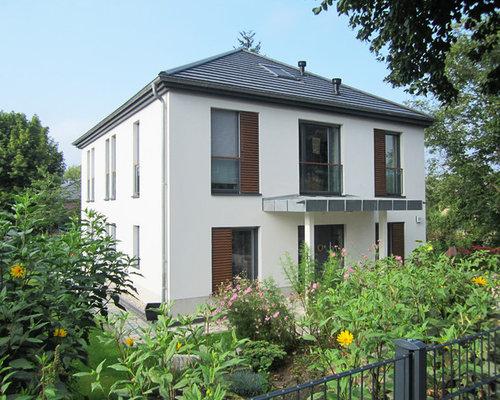 Moderne häuser mit walmdach ideen für die fassadengestaltung