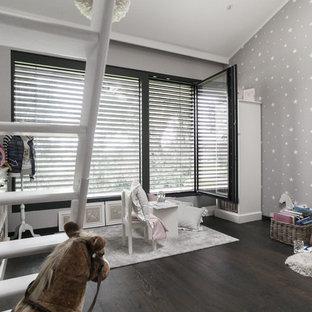 Chambre d\'enfant avec un mur vert Munich : Photos et idées ...