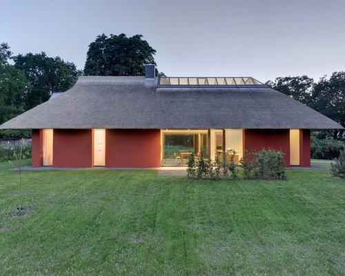 Moderne häuser und fassaden mit walmdach ideen für die haus