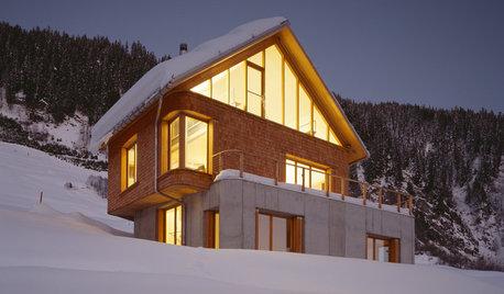 Casas Houzz: Un chalé espectacular con vistas a los Alpes