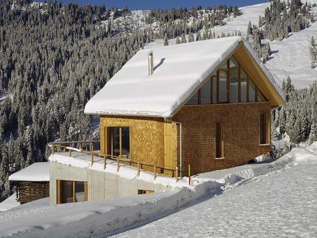 Contemporáneo Fachada by Drexler Guinand Jauslin Architekten GmbH
