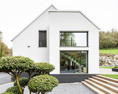 Moderne h user ideen design bilder houzz for Modernes haus dortmund