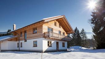 Referenzfotos für Holzbau Jörg