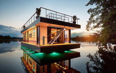 Architecture : Une maison flottante pour une vie nomade tout confort
