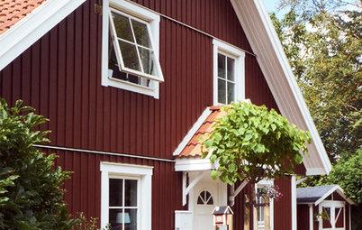 Houzzbesuch: Ein süßes rotes Schwedenhaus bei Bremen