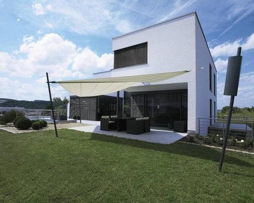 Moderne Häuser - Ideen für die Fassadengestaltung   HOUZZ