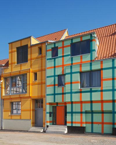 Contemporary Exterior by Schneider Architekten