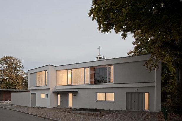 Modern Häuser by wiewiorra hopp schwark architekten