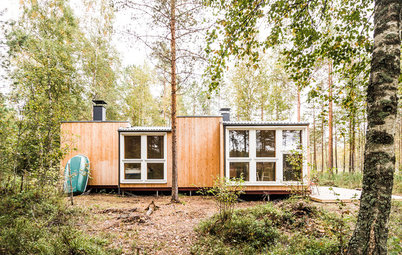 Finland Houzz Tour: A Handmade Wooden House in the Wilderness
