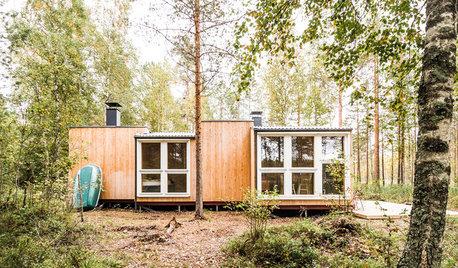 Visite Privée : Un chalet en bois dans la nature finlandaise