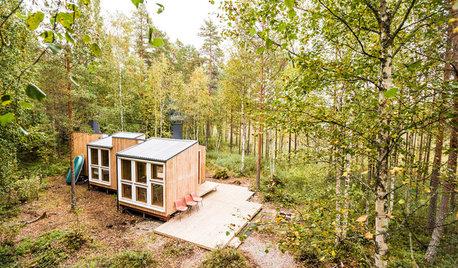 Fernab der Zivilisation: Ein Tiny-Holzhaus in Finnland