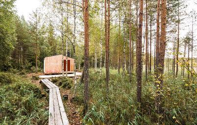 Houzz Tour: A Handmade Home in Finland's Wilderness