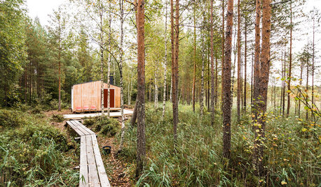 Houzz Tour: A Cosy, Handmade Tiny House in the Woods