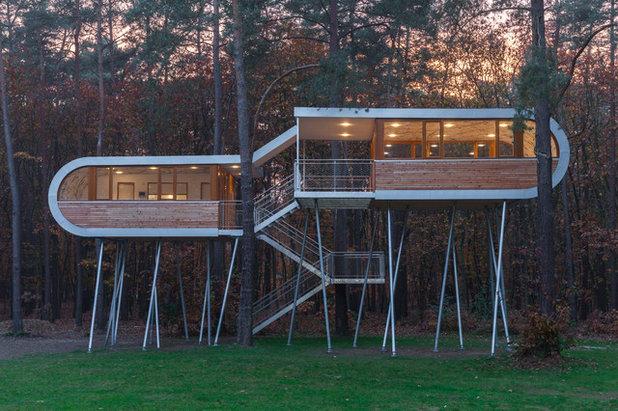 AuBergewohnlich Modern Häuser By Baumraum