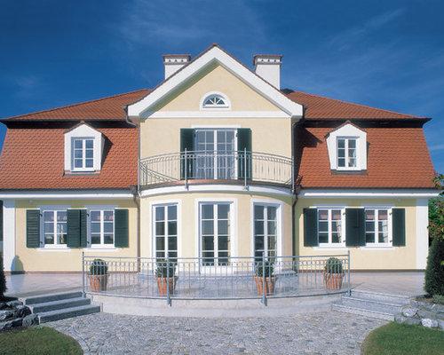 Landhaus modern fassade  Gelbes Haus - Ideen, Design & Bilder