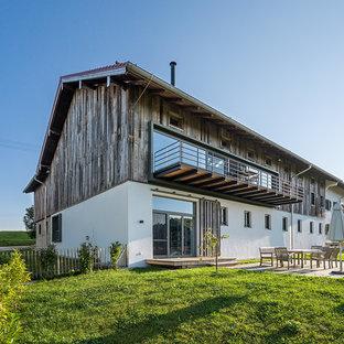 Photos d\'architecture et idées déco de façades de maisons à un étage ...
