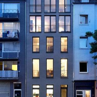 Umbau eines Stadthauses und Neubau eines Hofhauses H73, Düsseldorf