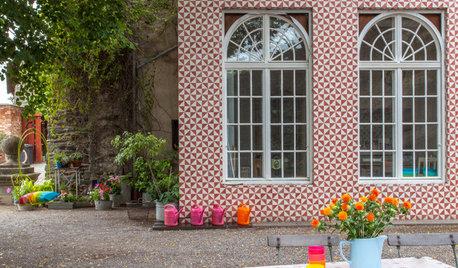 Houzz Германия: Идиллия, выстланная цементной плиткой