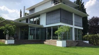 Villa H . Ansicht