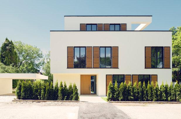 Modern Häuser by GEWERS PUDEWILL