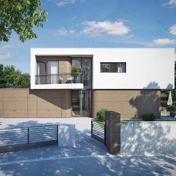 Villa Wohnanlage bei Frankfurt