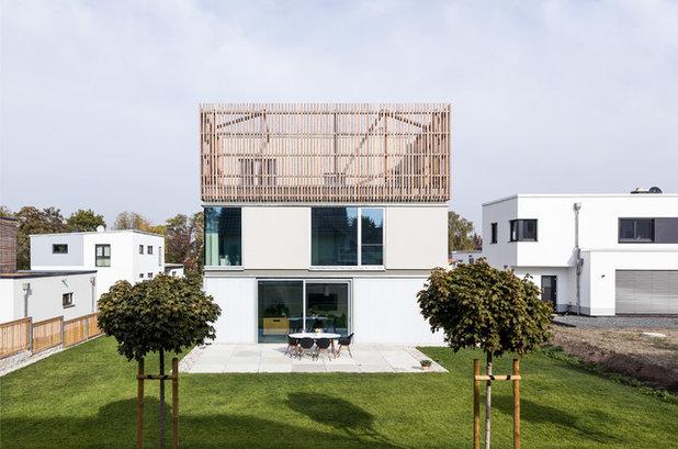 Minimalistisch Häuser by büro für bauform
