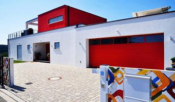 Vorderansicht Bauhausvilla PURE