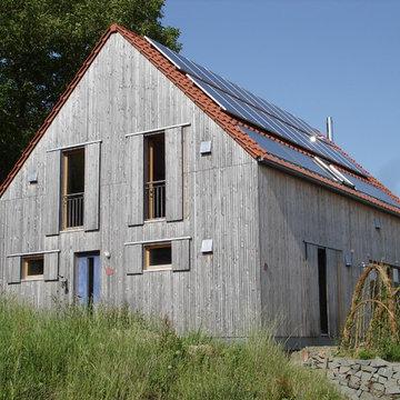 Wohnhaus in Holzbauweise