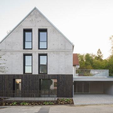 Wohnhaus mit 2 Wohneinheiten aus Infraleichtbeton