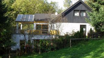Wohnhaus Winkel Anbau