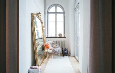 10 bonnes raisons d'opter pour un grand miroir doré