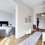 garderobe black white skandinavisch flur d sseldorf von thehomestory. Black Bedroom Furniture Sets. Home Design Ideas