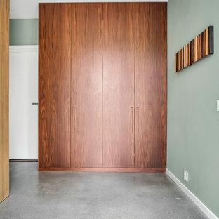 ストックホルムのコンテンポラリースタイルのおしゃれな廊下 (テラゾーの床) の写真