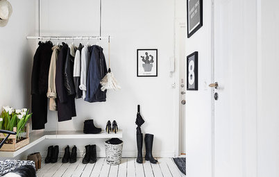 Get in the Swing of a Hanging Wardrobe