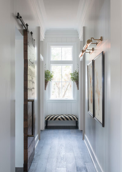 Transitional Hallway & Landing by Cameron Custom Builder