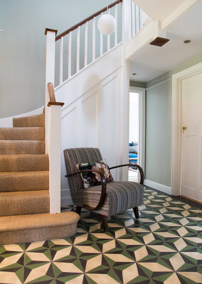 Transitional Hallway & Landing by Smartstyle Interiors