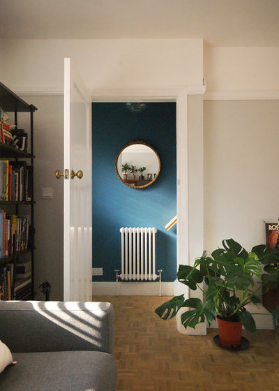 Eclectic Hallway & Landing 1930s Semi Detached Refurbishment
