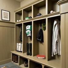 Cloak room boot room