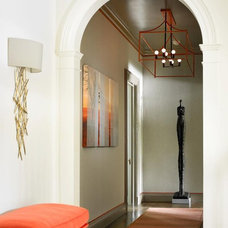 Contemporary Hall by The Design Atelier, Inc.