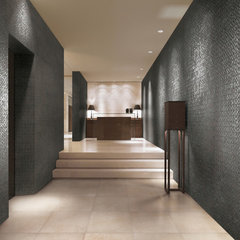 contemporary hall 2012 Tile Trends Photography - Living Spaces with Coverings Preview
