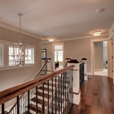 Traditional Hall by TC Homebuilders Inc