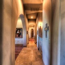 Mediterranean Hall by Jeff Watson Homes, Inc.