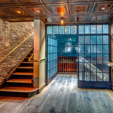 Industrial Hall by American Tin Ceiling Company